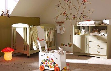 Quelles couleurs choisir pour une chambre de bébé ? - Idées ...