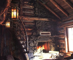 cozy, fire, and home image
