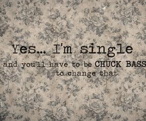 single, chuck bass, and gossip girl image