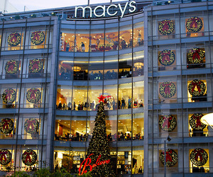 macys, christmas, and light image