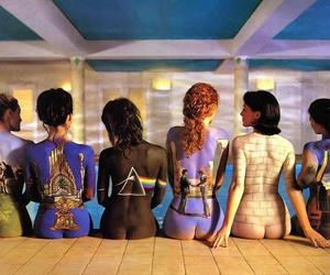 painting, Pink Floyd, and bodys image