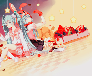 anime, vocaloid, and sweet image