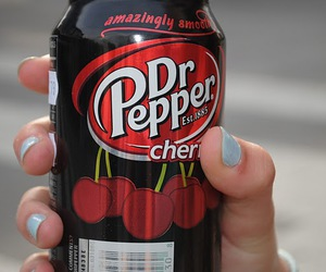 fingers and Dr. Pepper image