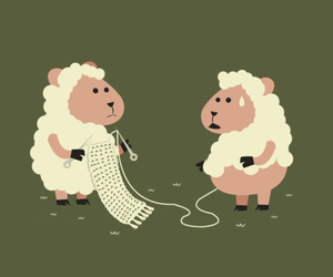 cute, funny, and sheep image