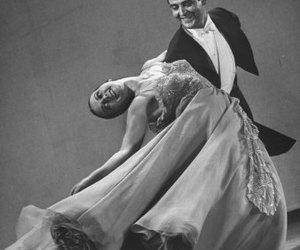 ballroom, dancing, and dress image