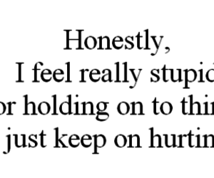 quote, hurt, and stupid image