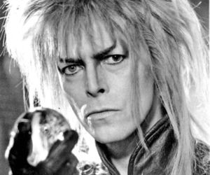david bowie, labyrinth, and the goblin king image