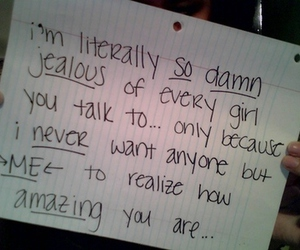 jealous, amazing, and quote image
