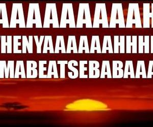 lion king, funny, and the lion king image