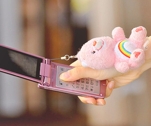 pink, phone, and cute image