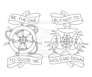 be the one to guide me and but never hold my down image
