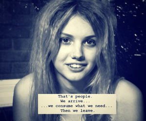 skins, cassie, and quote image