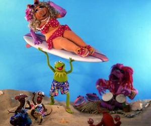 kermit, Miss Piggy, and muppets image