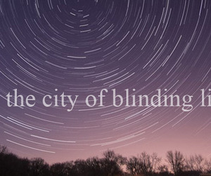 sky, stars, and typography image