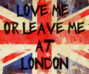london, england, and leave image
