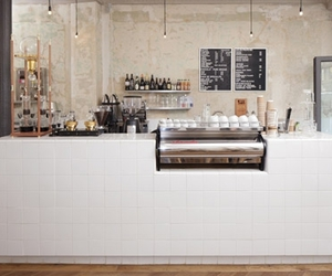 interior, coffee, and design image