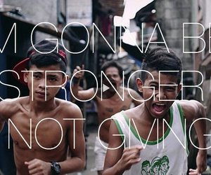 rudimental and not giving in image