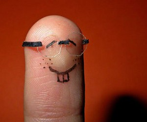 fingers, nerd, and glasses image