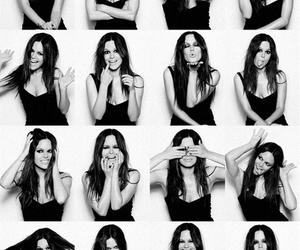 rachel bilson, black and white, and the oc image