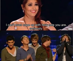 cheryl cole, cutie, and one direction image