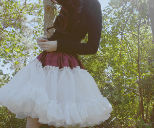 fashion, skirt, and pretty image
