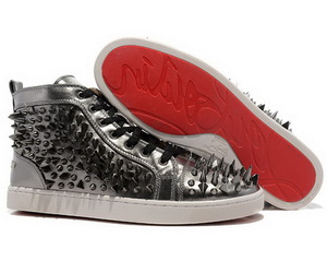 christian louboutin men and red bottom shoes image