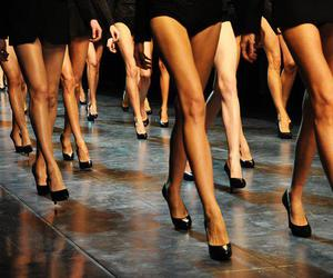 girls, models, and legs image