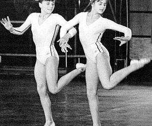 gymnast, nadia comaneci, and gymnastics image
