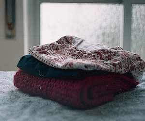 sweater, winter, and vintage image