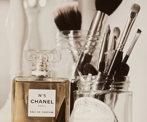chanel, perfume, and makeup image