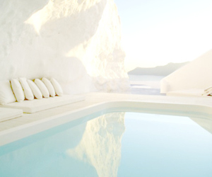pool, Greece, and water image