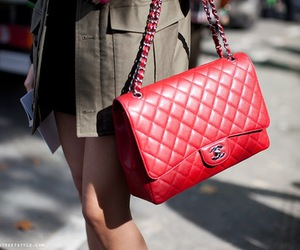 fashion, chanel, and red image