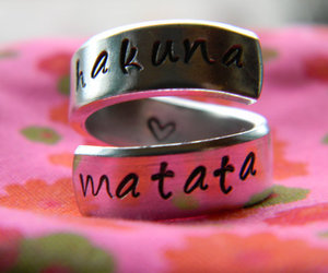 hakuna matata, ring, and disney image