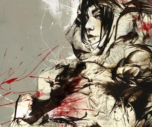 girl, Russ Mills, and byroglyphics image
