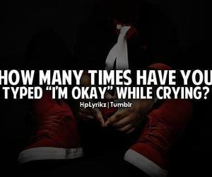 cry, quote, and text image