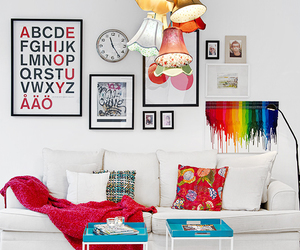 interior, colorful, and home image