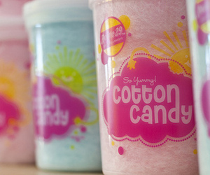 cotton candy, pink, and candy image