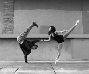ballet, boy, and girl image