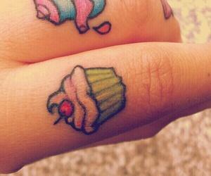 tattoo and cupcake image