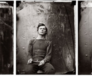 vintagephoto: The First Mugshot (text and photos via The year in pictures blog)