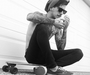 authentic, raybans, and tattoo image