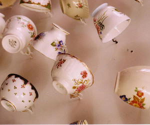 falling and teacups image