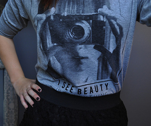 forever 21, raglan, and i see beauty image