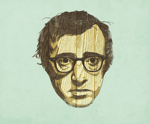 woody allen and illustration image