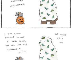 cartoon, Halloween, and cute image