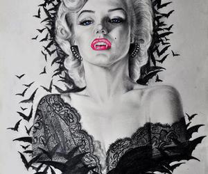 marilyn monroe bat image