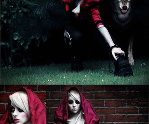 blood, fairytale, and little red riding hood image