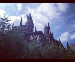castle, cool, and harry potter image
