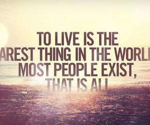 quote, live, and life image