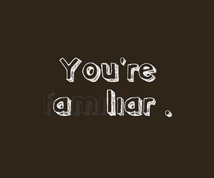 liar, typography, and thelovedbird image